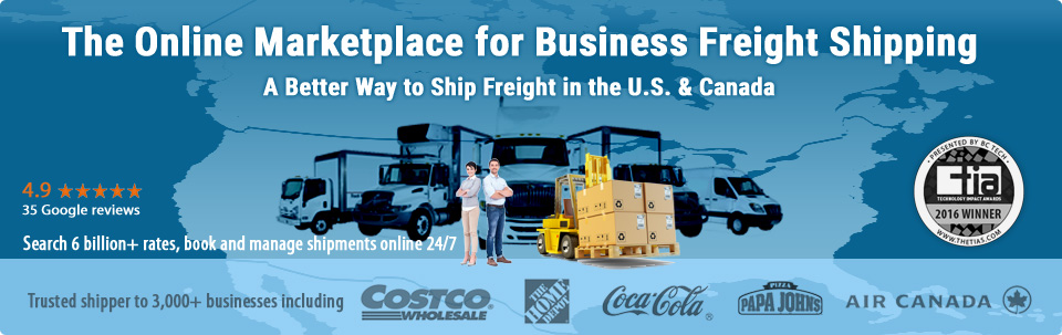 The Online Marketplace for Business Freight Shipping. A Better Way to Ship Freight in the U.S. & Canada. Trusted shipper to 2,000+ businesses.