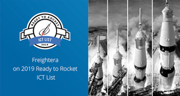 Freightera on 2019 Ready to Rocket ICT list