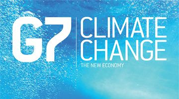 G7 Climate Change the New Economy magazine front cover