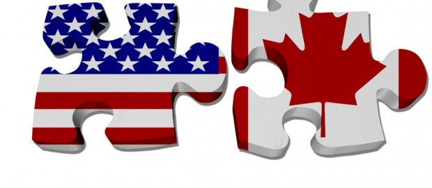 US-Canada cross border shipping puzzle