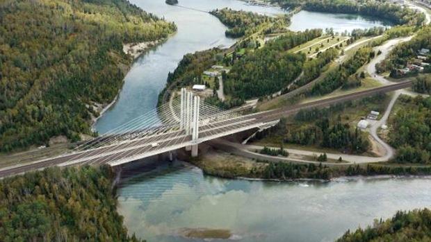 Nipigon River Bridge Accident Causes Road Closure in Ontario