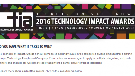2016 TIA Awards BCTIA