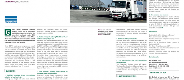 G7-article Freightera Green Freight Image