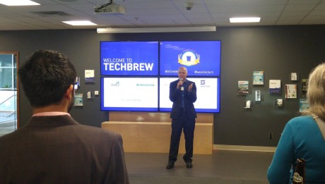 Eric Beckwitt, Freightera CEO at TechBrew Sept 22, 2016