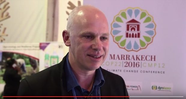 Freightera CEO Eric Beckwitt Interviewed by Climate Home at COP22 in Marrakech