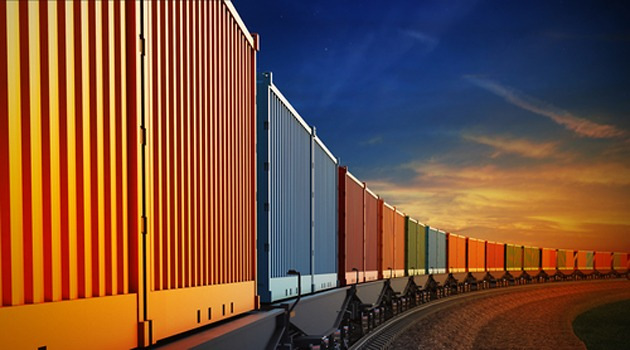 Freight moved by rail Freightera