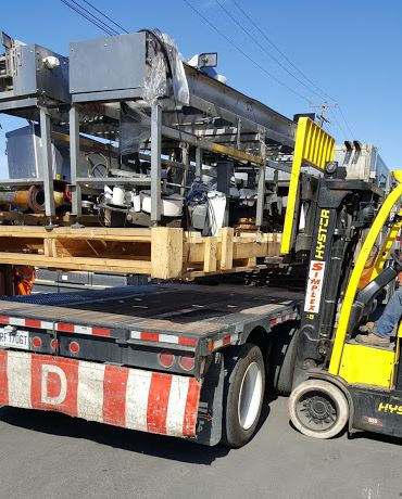 Heavy load forklift