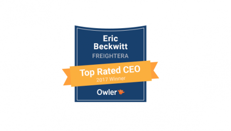 Eric Beckwitt: Owler's Top CEO winner Freightera