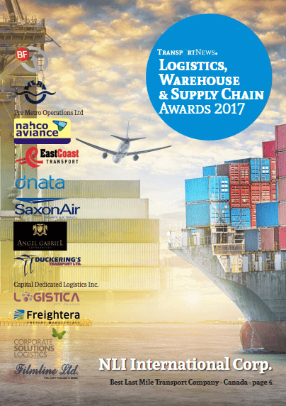 Logistics Warehouse & Supply Chain Awards 2017