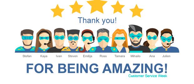 Freightera customer service team