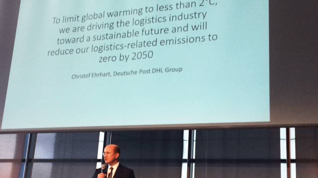 Deutsche Post DHL Group promise go zero emissions by 2050