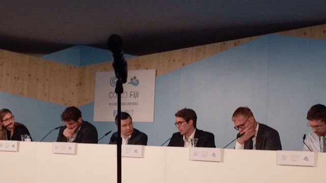 Green Freight Panel at COP23