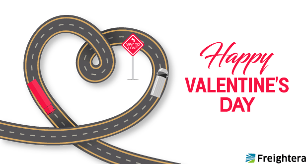 Happy Valentines Day from Freightera