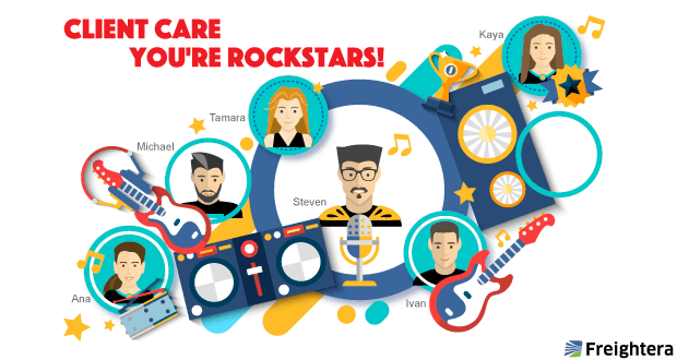 Freightera Client Care Rockstars