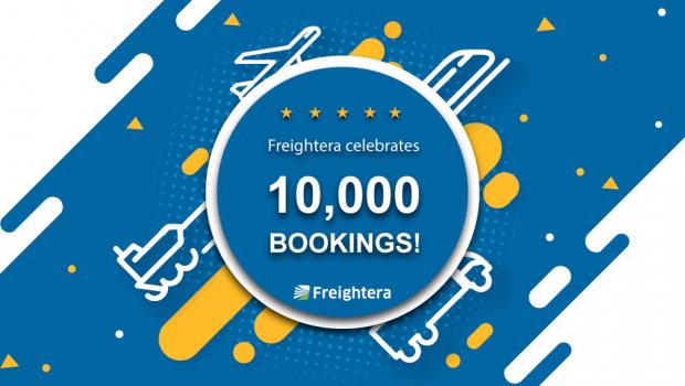 Freightera celebrates 10,000th booking!