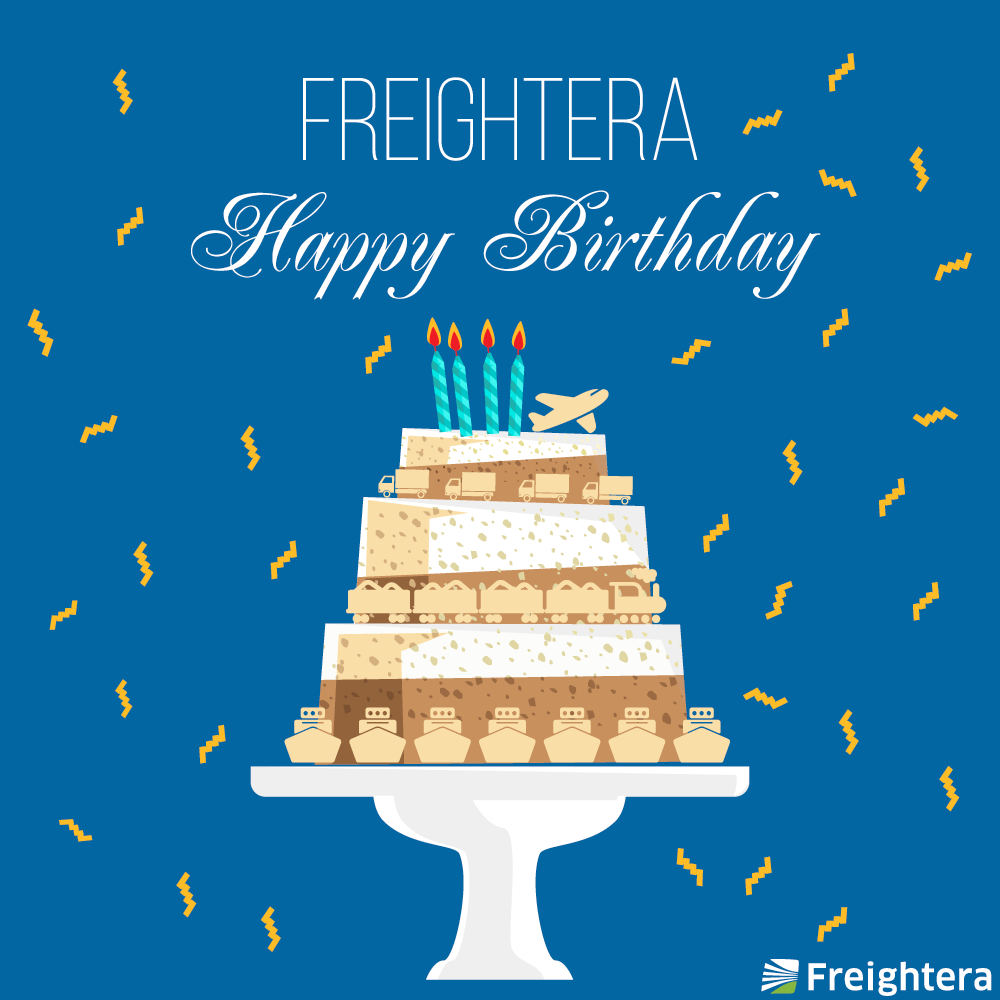 Happy Birthday, Freightera