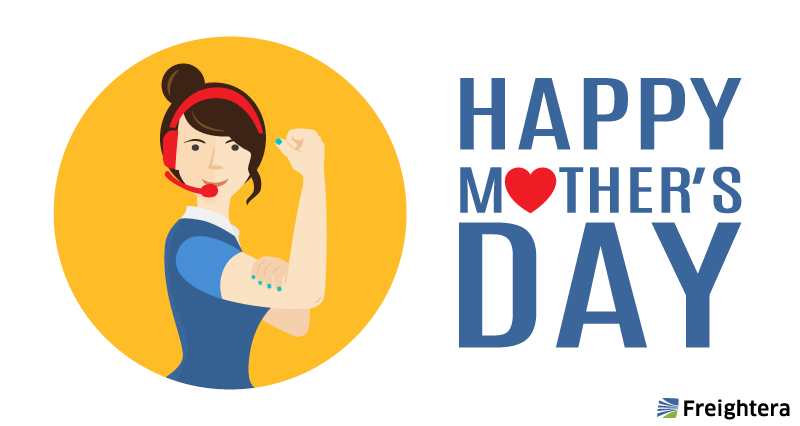Happy mother's day card - for moms in customer service
