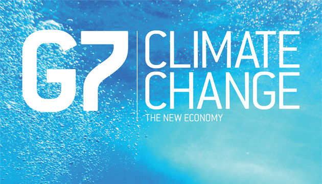 G7 2018 Summit Climate Change - The New Economy Front Cover