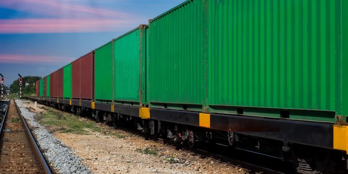 Freight moved by rail