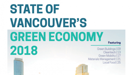 Freightera featured in the State of Vancouver's Green Economy 2018 report by VEC