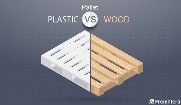 Plastic Pallets vs  Wood Pallets: Differences, Advantages