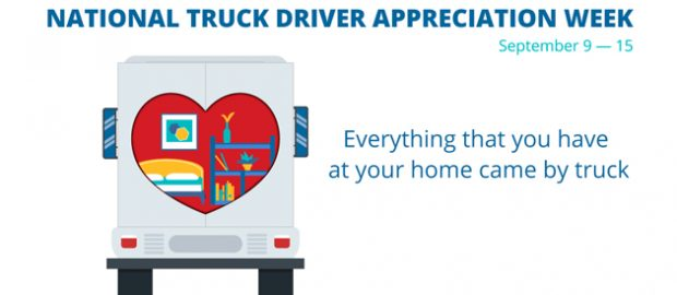 National Truck Driver Appreciation Week 2018