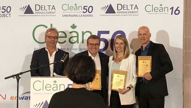 Freightera's Eric Beckwitt wins Clean50 Award for sustainability at Summit in Toronto