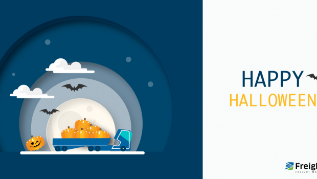 Happy Halloween - from Freightera