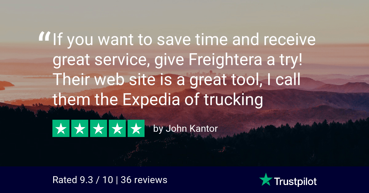 Trustpilot Review from John Kantor