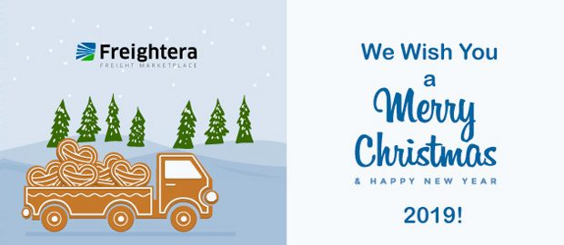 Happy Holidays from Freightera