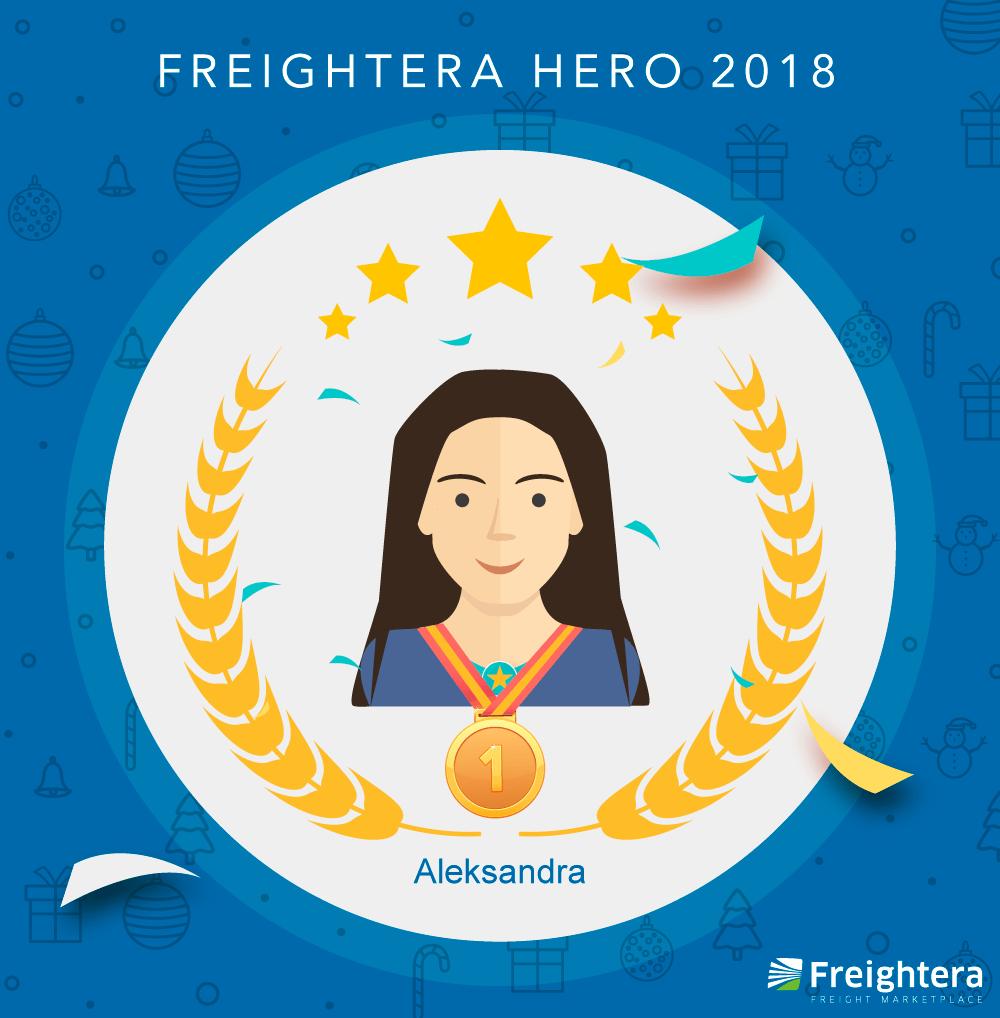 Aleksandra FREIGHTERA Hero 2018