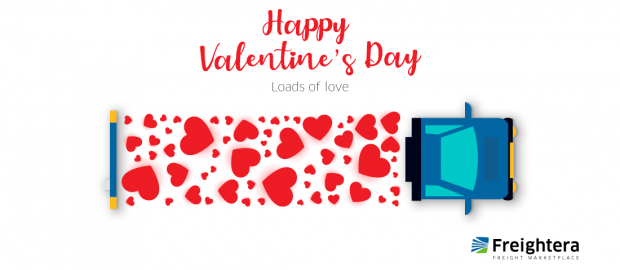Happy Valentines Day image Freightera