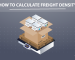 How to Calculate Freight Density - Infographic