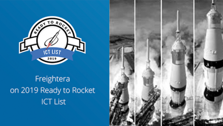 Freightera Ready to Rocket ICT Winner 2019