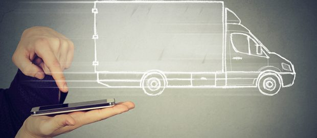 Freight digitization, order truck by phone