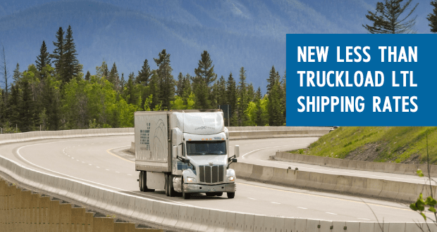 New Less than Truckload LTL Freight Shipping Rates