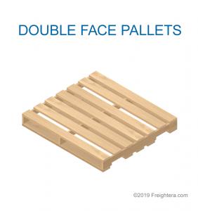 Double face pallet
