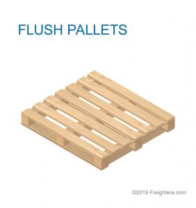 Flush pallet type