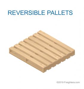 Reversible pallet