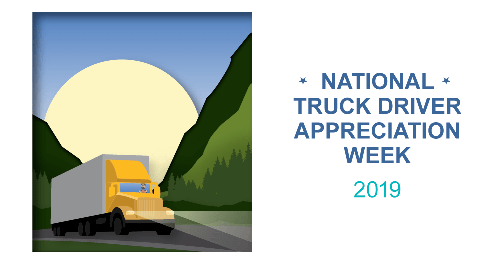 Happy Truck Driver Appreciation week