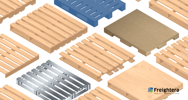 Pallet types, from wood to plastic, metal, presswood and more