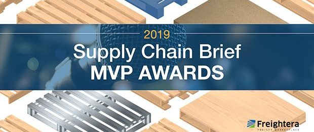 Freightera Finalist of the Supply Chain Brief MVP Awards