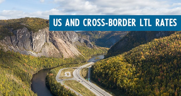 Freightera US and Cross Border LTL Freight Rates