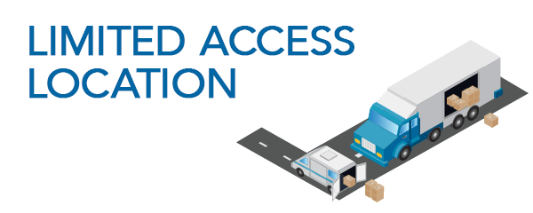 What are limited access locations illustration