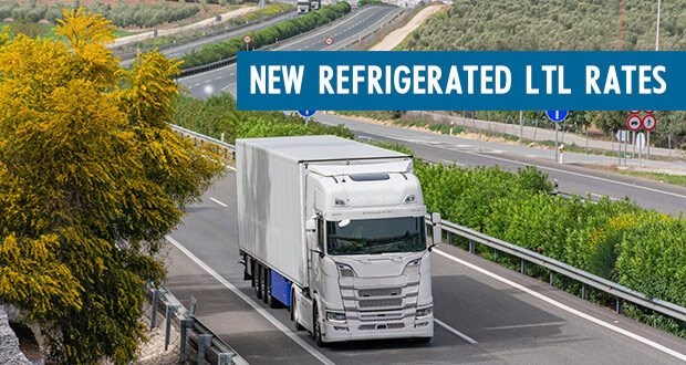 Refrigerated LTL Rates in Canada