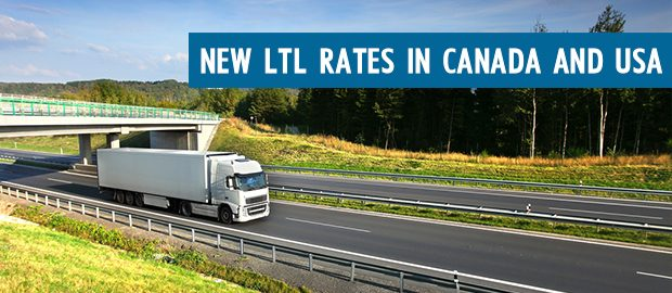 New Rates Canada USA