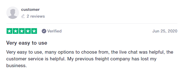 freightera review june 2020