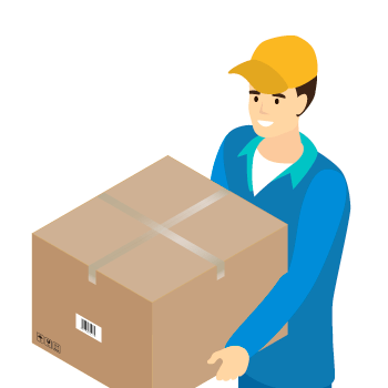 Parcel - it can be manually lifted