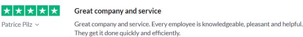 Freightera customer feedback 2020