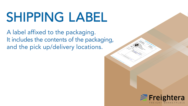 Shipping Label Definition Freightera Freight Glossary